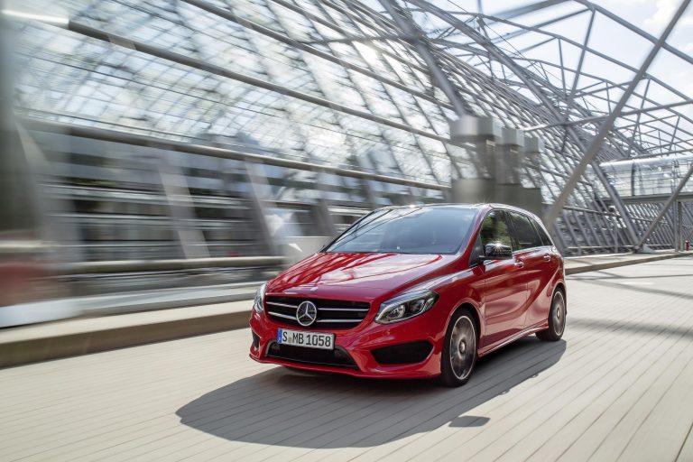 2015 Mercedes-Benz B-Class Facelift Unveiled