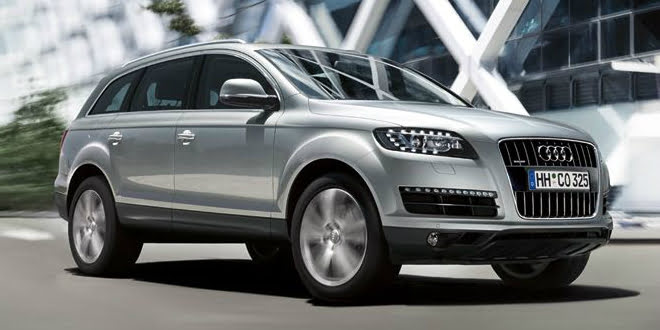 Audi Q7 SUV Range Revamped