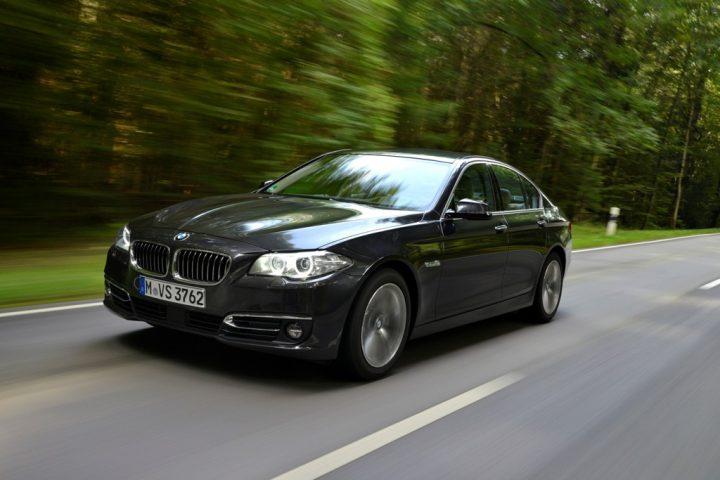 BMW 518d, 150 PS, sophistograu, Luxury, Leder Dakota Oyster