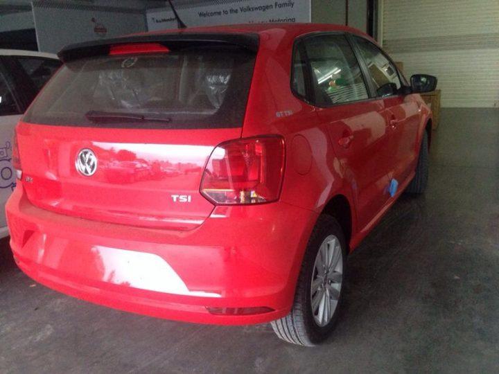 2014-VW-Polo-GT-TSI-facelift-rear-three-quarter