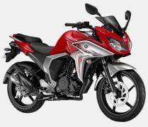 2014 Yamaha Fazer FI Version 2.0 Red Down Paint