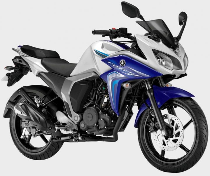 2014 Yamaha Fazer FI Version 2.0 White Cloud Paint