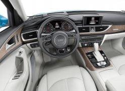 2015 Audi A6 Sedan Interior Driver View