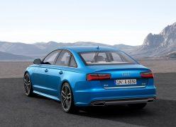 2015 Audi A6 Sedan Rear Left Quarter