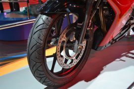 2015 Hero HX250R Front Wheel Left Side
