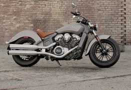2015 Indian Scout Thunder Silver Smoke