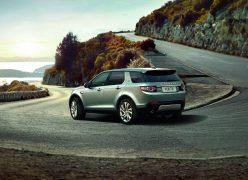2015 Land Rover Discovery Sport Rear Left Quarter