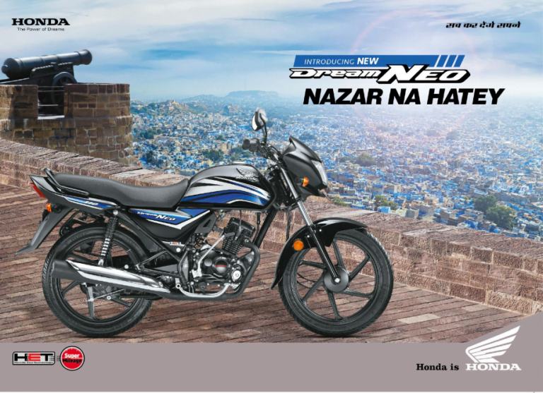 2016 Honda Dream Neo Launched @ INR 49,070