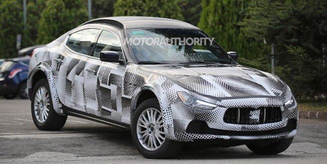 2016 Maserati Levante SUV Spied