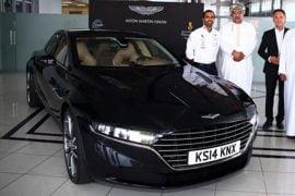 Aston Martin Lagonda Sedan Front Right