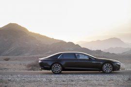 Aston Martin Lagonda Sedan Right Side Profile