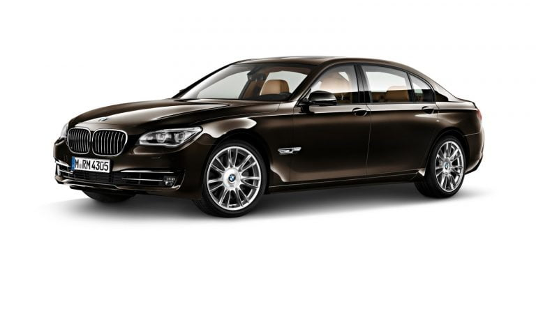 2015 BMW 7-series Final Edition Headed to Paris Motor Show