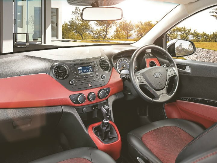 Hyundai Grand i10 Sportz Edition Interior Front