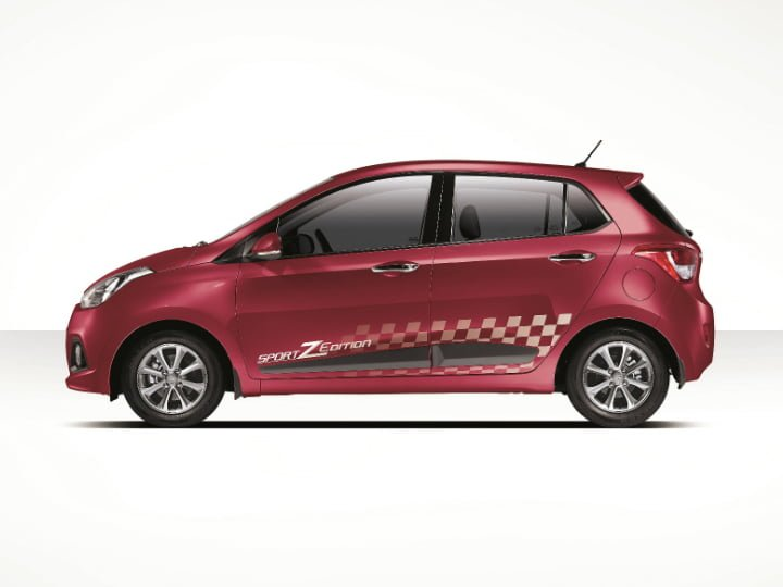 Hyundai Grand i10 Sportz Edition Left Side Profile