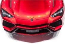 Lamborghini Urus SUV concept images beijing auto show