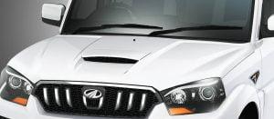 Mahindra Scorpio Facelift Bonnet