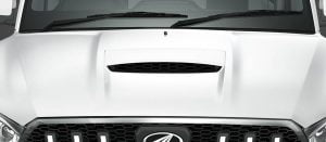 Mahindra Scorpio Facelift Bonnet Scoop