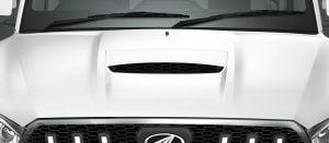 Mahindra Scorpio Facelift Bonnet Scoop