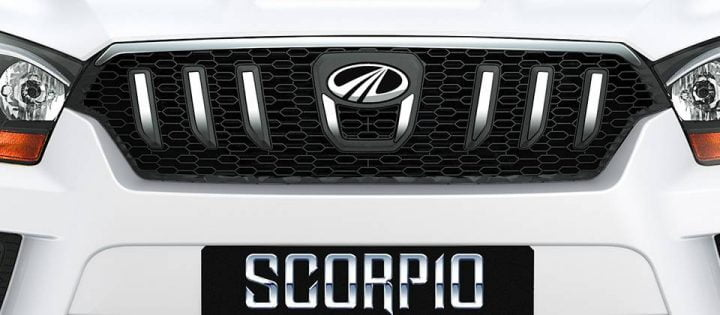 Mahindra Scorpio Facelift Front Grille
