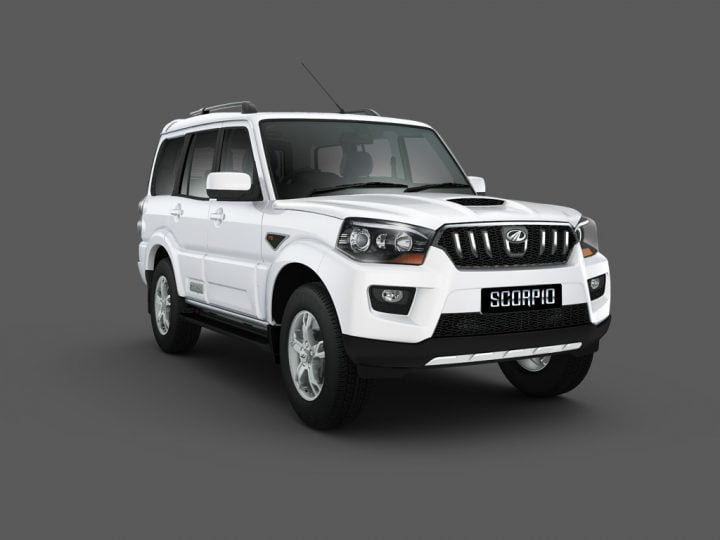 Mahindra Scorpio Facelift Front Right Quarter