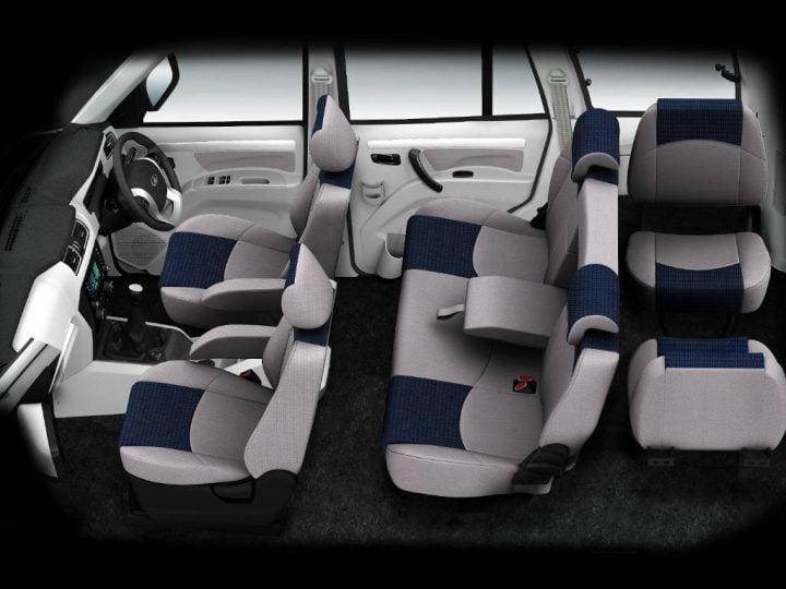 Mahindra Scorpio Facelift Interior Cabin