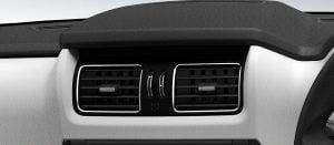 Mahindra Scorpio Facelift Interior Chrome Surround AC Vents