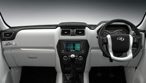Mahindra Scorpio Facelift Interior Dashboard