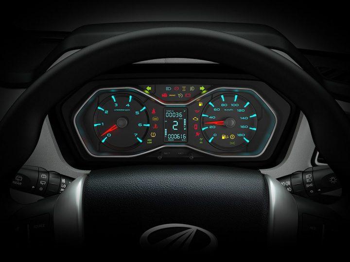 Mahindra Scorpio Facelift Interior Instrument Cluster
