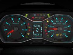 Mahindra Scorpio Facelift Interior Instrument Cluster In Focus