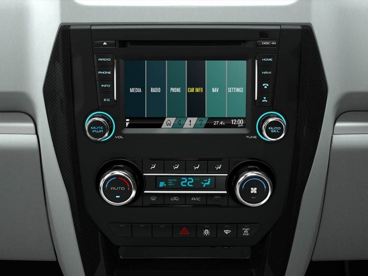 Mahindra Scorpio Facelift Interior Multimedia-Screen