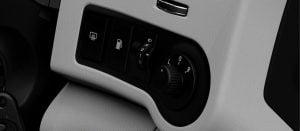 Mahindra Scorpio Facelift Interior ORVM controls