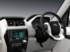 Mahindra Scorpio Facelift Interior Steering