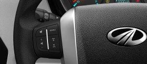 Mahindra Scorpio Facelift Interior Steering Mounted Media Controls