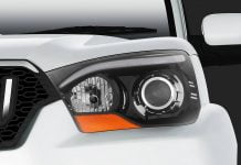 Mahindra Scorpio Facelift Left Headlight Cluster
