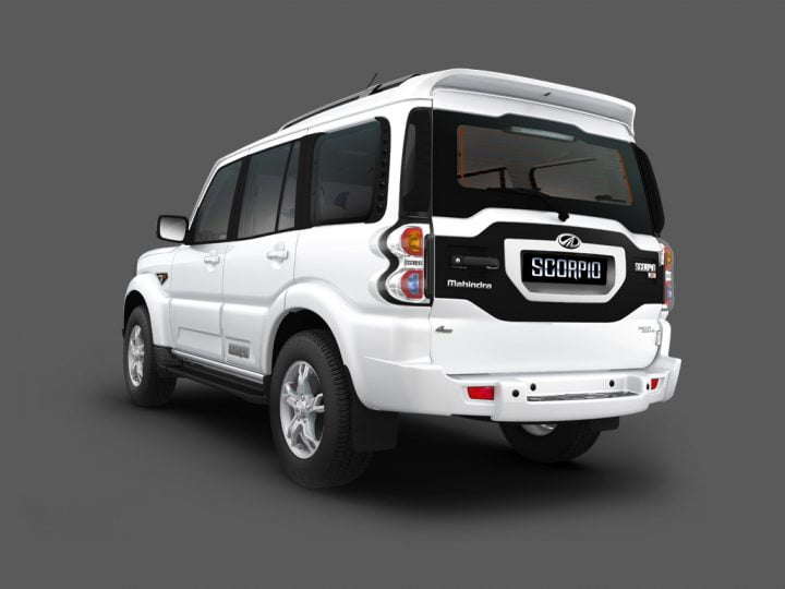 Mahindra Scorpio Facelift Rear Left Quarter