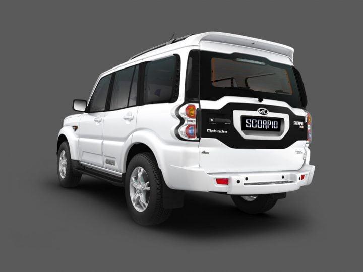 Mahindra Scorpio Facelift Rear Left Quarter