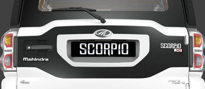 Mahindra Scorpio Facelift Rear Something