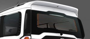 Mahindra Scorpio Facelift Rear Windshield
