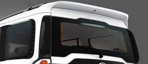 Mahindra Scorpio Facelift Rear Windshield