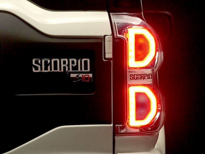 Mahindra Scorpio Facelift Right Tail-lamp Cluster