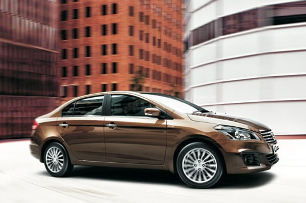 Maruti Ciaz Price in India Official Pictures Side Profile