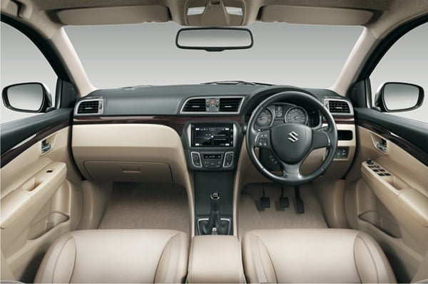 Maruti Ciaz Price in India Official Pictures Interior Dashbaord