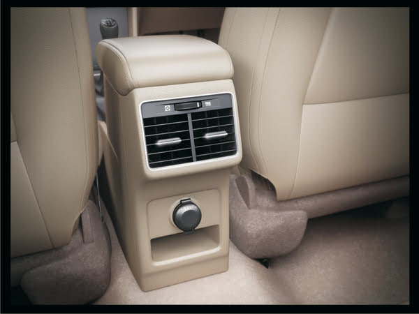 Maruti Ciaz Price in India Official Pictures Interior Rear AC Vents