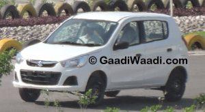 Maruti Suzuki Alto K10 Spy Shot Front Left Quarter
