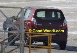 Maruti Suzuki Alto K10 Spy Shot Rear LEft Quarter