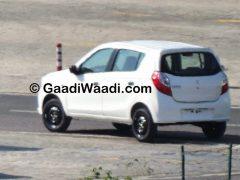 Maruti Suzuki Alto K10 Spy Shot Rear Left Quarter1