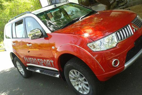 Mitsubishi Pajero Sport Limited Edition Front Right Quarter