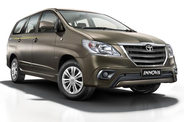 New Toyota Innova limited-edition