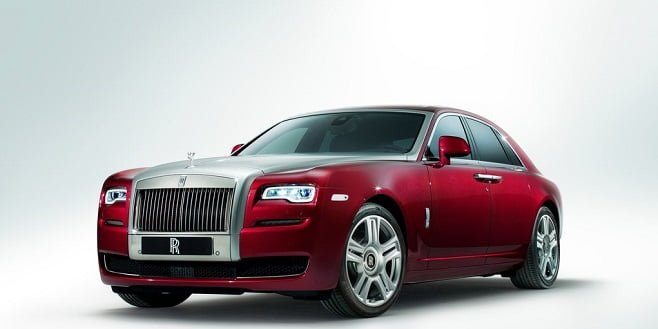 Rolls Royce Ghost Series II Spotted in India
