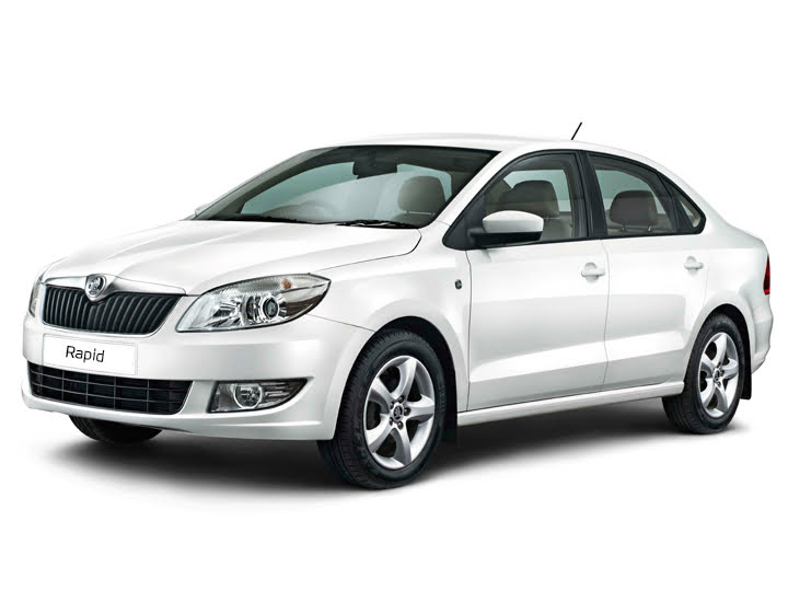Skoda Rapid Facelift Front Left Quarter